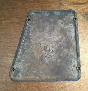Original Porsche 356 Pre a 356a 356b Steering Box Access Cover