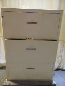 Shaw walker Insulated Filing Cabinet File Class 350 3 Drawers B831 020 R3575
