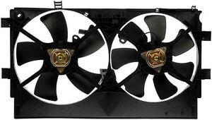 New Radiator Fan Assembly W Controller Fits 2008 15 Mitsubishi Lancer 1355a087