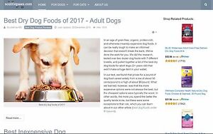 Pet Product Reviews Affiliate Domain And Website Scuttlepaws com