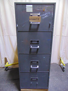 Herring Hall Marvin Insulated File Cabinet 4 Drawers