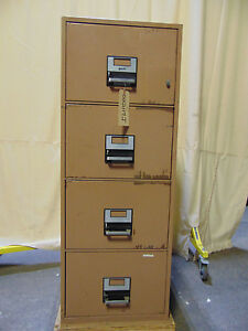 York Insulated File Cabinet 4 Drawers