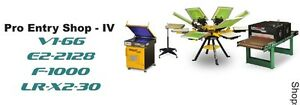 Vastex V 1000 Screen Printing Press 6 Station 6 Color Proshop 4