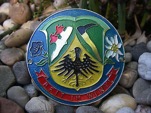 Vintage German Reit Im Winkl Bavaria Chiemgau Chiemsee Automobile Car Badge