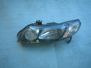 Honda Civic Sedan Hybrid Headlight Head Lamp 2009 Oem 2010