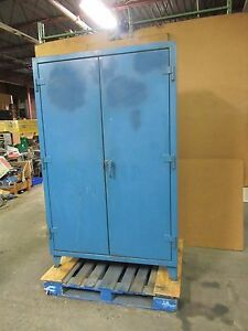 Strong Hold 48 x24 x72 Stronghold Heavy Duty Steel Storage Cabinet 4 Shelf 13