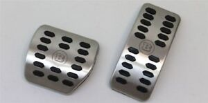 Genuine Smart Car Brabus Stainless Pedal Cover Set Automatic C453 4532904400