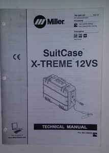 Miller Suitcase 12vs Technical Manual Sept 2002