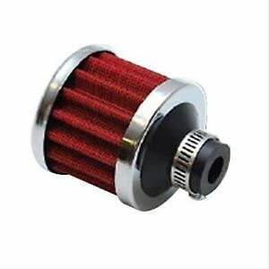 Vibrant Performance Crankcase Breather Filter W Chrome Cap 3 4 2164