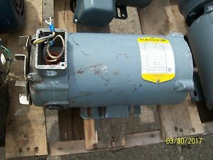 Baldor Dc Motor 1 Hp 180v 5a 1750 Rpm 56c Frame 1hp see Description