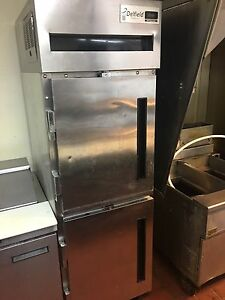 Delfield 6000xl 25 5 Single Section Split Door Reach in Refrigerator