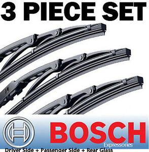 For Toyota Sienna 2006 2010 Bosch Wiper Blades Direct Connect 26 19 16 New