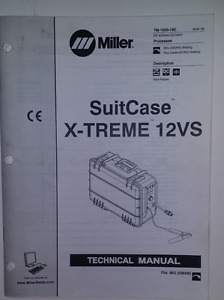 Miller Suitcase X treme 12vs Technical Manual