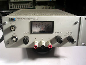 Hp Agilent 6284a Dc Power Supply 0 20vdc 0 3a Tested