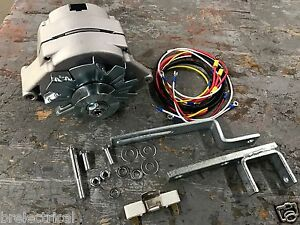 Akt0007 New Ford New Holland Tractor Alternator Kit W Resistor 12v Naa