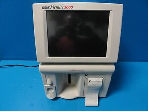 Instrumentation Laboratory Gem Premier 3000 Blood Gas Electrolyte Analyzer 13156