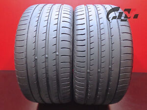 2 High Tread Yokohama Tires 295 35 21 Advansport V105 107y N2 Porsche Audi 41131