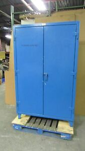 Strong Hold 48 x24 x72 Stronghold Heavy Duty Steel Storage Cabinet 4 Shelf 37