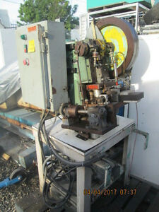 Kenco Model 5 187 Bench Top Punch Press As Is_great Deal