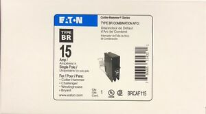 Lot Of 10 Cutler Hammer Brcaf115 Arc Fault Breaker New In Box