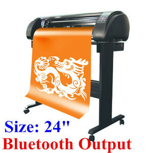 24 Signkey Vinyl Cutter Sign Cutting Plotter Common Cut Bluetooth Output