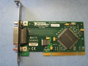National Instruments Pci gpib Interface Adapter Card 188513b d e f 01l