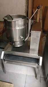 Groen 20 Quart Gas Tilt Kettle Stand