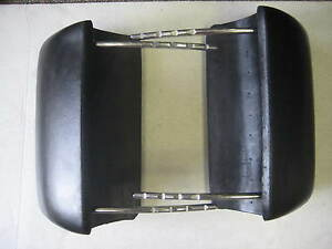 66 67 1966 1967 Chevelle El Camino New Pair Black Bucket Seat Headrest