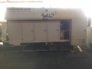 Generac 600 Kw Low Hours Bi fuel Generator Dual 300 Kw Generators Volts 277 480
