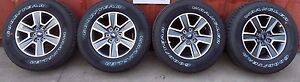 2015 2017 Ford F150 Fx4 18 Inch Takeoff Wheels And Tires Set Package No Tpms