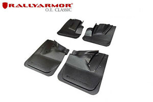 Rally Armor Black Oe Classics Mudflap For 08 14 Impreza Sti 11 14 Wrx Hatchback