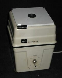 Eppendorf 3200 15 000 Rpm Table Top Centrifuge Tested And Calibrated