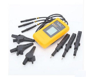 Fluke 9040 Digital Phase Rotation Indicator Tester Meters Dhl Ems Ups Express