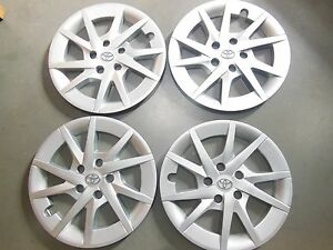 Toyota Prius Hubcaps Wheel Covers 12 13 14 2015 2016 16 Factory Set Of 4 61165