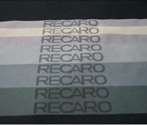 Jdm Recaro Fabric Gradation Color For Sparco Seat Cover Door Panel Armrest Cloth