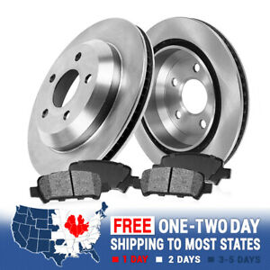 Rear Brake Rotors And Metallic Pads For Trac 2003 2004 2005 Ford Explorer 4wd