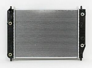 Radiator For Fit 2934 05 13 Chevrolette Corvette 6 0 6 2l V8 At Plastankalumcore