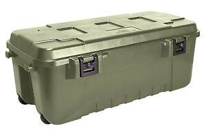 Pickup Truck Bed Garage Storage Locking Tool Box Cargo Locker Trunk Chest Green