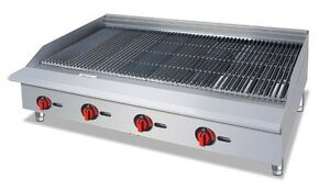 Cck 48 Radiant Style Countertop Gas Charbroiler