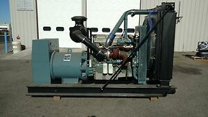 Detroit Diesel Series 60 440kw 480 Volt 3 Phase New Generator Set Tier 3