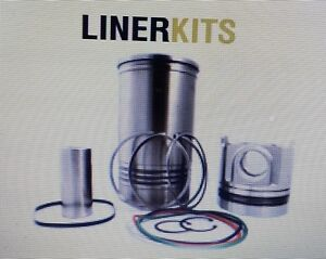 3406b 9y3116lk Liner Kit For Caterpillar cat Engine piston