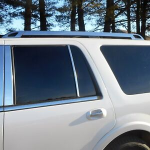 For Ford Expedition 2008 2017 Saa Rr55383 Polished Roof Rack Trim