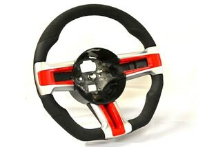 Sportive Flat Bottom Steering Wheel Ford Mustang S197 5 0 Gt Shelby V6