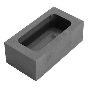 14OZ Silver 26OZ Gold Graphite Casting Melting Ingot Mold Mould For Refining