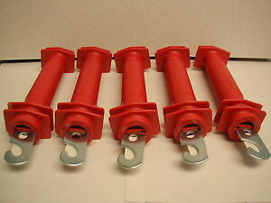 Dare Electric Fence Gate Handles Red Plastic Model 503 5