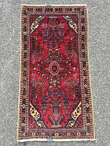 Antique Persian Sarouk Rug 2 X 3 10 Circa 1920