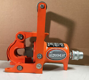 Pell Hydrashear Wire Rope Cutter Poc 1125 Poc1125 1 1 8 Capacity Lightly Used