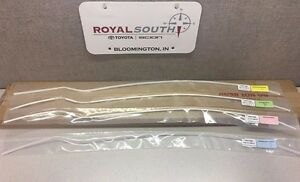 Toyota Tundra 2007 2017 Crewmax Painted 040 Door Edge Guards Genuine Oem Oe