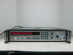 Eip 575 Source Locking Microwave Counter Ccn 1807 Opt 09 S n 01355