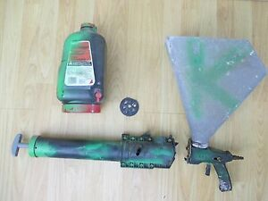 2 Drywall Texture Hoppers 2 Guns Sets Homax Manual Pneumatic Mark 1 Working